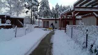 3. ARCTIC CAT 1000 TRV snow plowing 2013