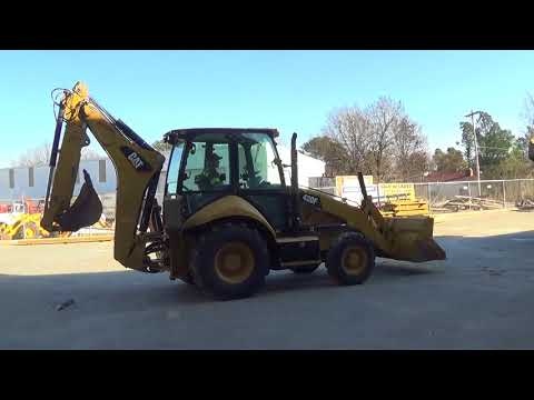 CATERPILLAR TERNE 420FST equipment video u3Rpb-uhBjo