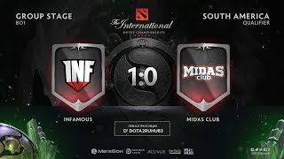 Infamous vs Midas Club, The International SA QL [Lum1Sit, Mortalles]