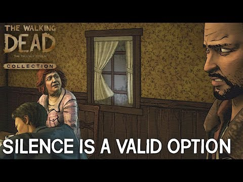 The Walking Dead Collection Season 1 Episode 2 - Do Nothing - All Silent Responses HD