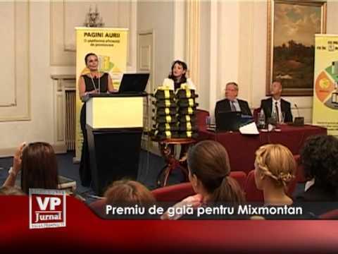 Premiu de gală pentru Mixmontan