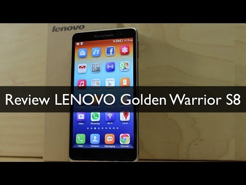 Review LENOVO Golden Warrior S8  -  Análisis completo