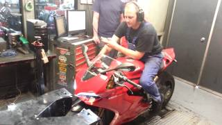 10. 2012 Ducati 1199S ABS Panigale with TERMIGNONI Dyno Run 177HP 90 ft/lb Torque 190MPH Top Speed