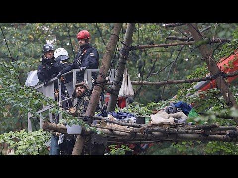 NRW: Die Räumung des Hambacher Forst hat begonnen