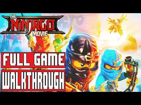 LEGO NINJAGO MOVIE VIDEOGAME Gameplay Walkthrough Part 1 Full Game No Commentary