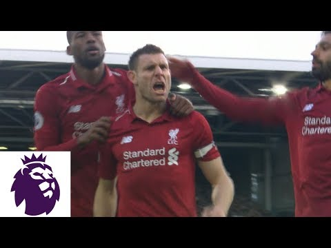 James Milner's Penalty Kick Puts Liverpool Back In Front V. Fulham | Premier League | NBC Sports