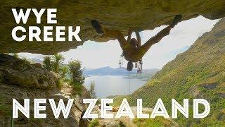 Climbing Trip to Wye Creek in New Zealand by Jackson Climbs