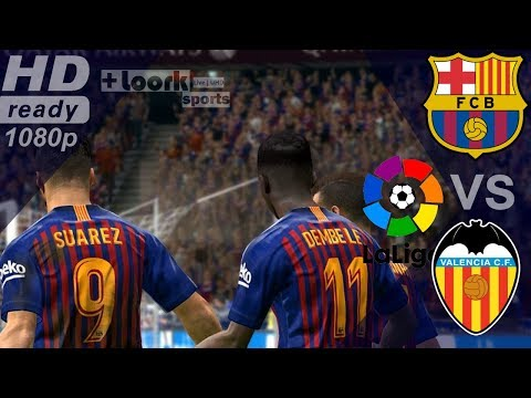 Barcelona Vs Valencia - Goals & Extended Highlights 2019