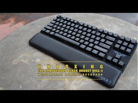 Armaggeddon Black Hornet MKA3 Gaming Keyboard