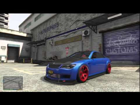 BMW M3 GTA - Customizing the Ubermacht Sentinel XS, Sports (BMW M3) In GTA V.