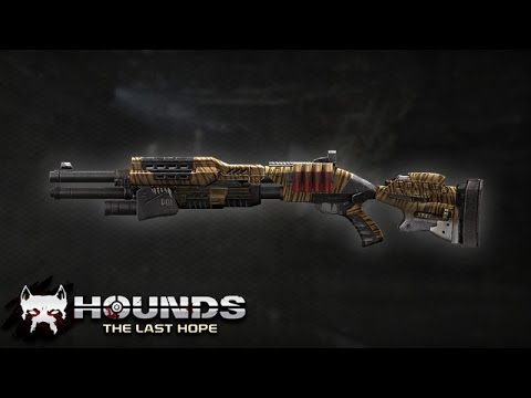 Hounds: The Last Hope Pompalı Tüfek