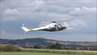 """Lockheed XH-51 (Elektro). Erste """"öffentliche"""" Präsentation des Helis nach dem kompletten Neuaufbau. 4. hessisches..."""