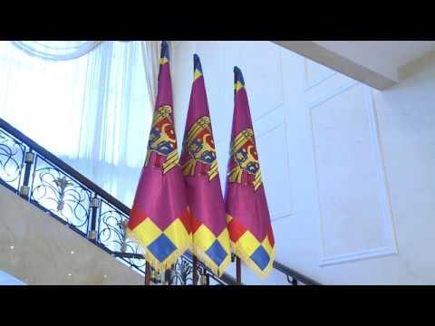 Moldovan president meets Russian delegation