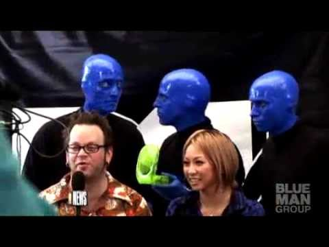 Tokyo Summersonic - Behind the Creative Process (Blue Man Group)