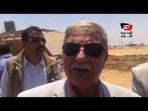 محافظ الإسماعيلية يعلن عن قرارات هامة خلال تنفيذ إزالة جمعية العاشر