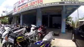 Bulacan Philippines  city photos gallery : Bulacan Philippines, a walk past some local shops, motor bikes