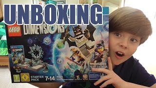 Unboxing: LEGO Dimensions Starter Pack (PS4)