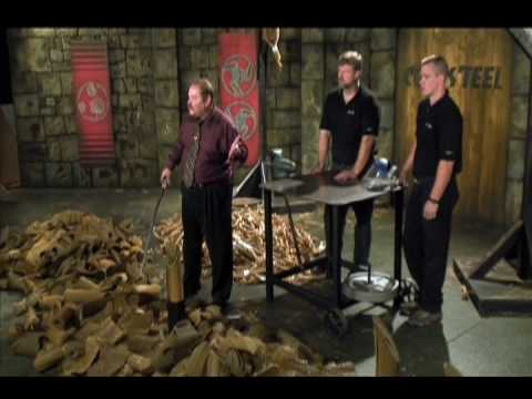 Cold Steel - Cold Steel's Warrior Series Katana (88BKW) Cutting demonstrations and marathon test. *Meats utilized in this video was carefully preserved and donated to the...