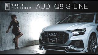 Audi Q8 S-LINE Bodykit by ROWEN JAPAN