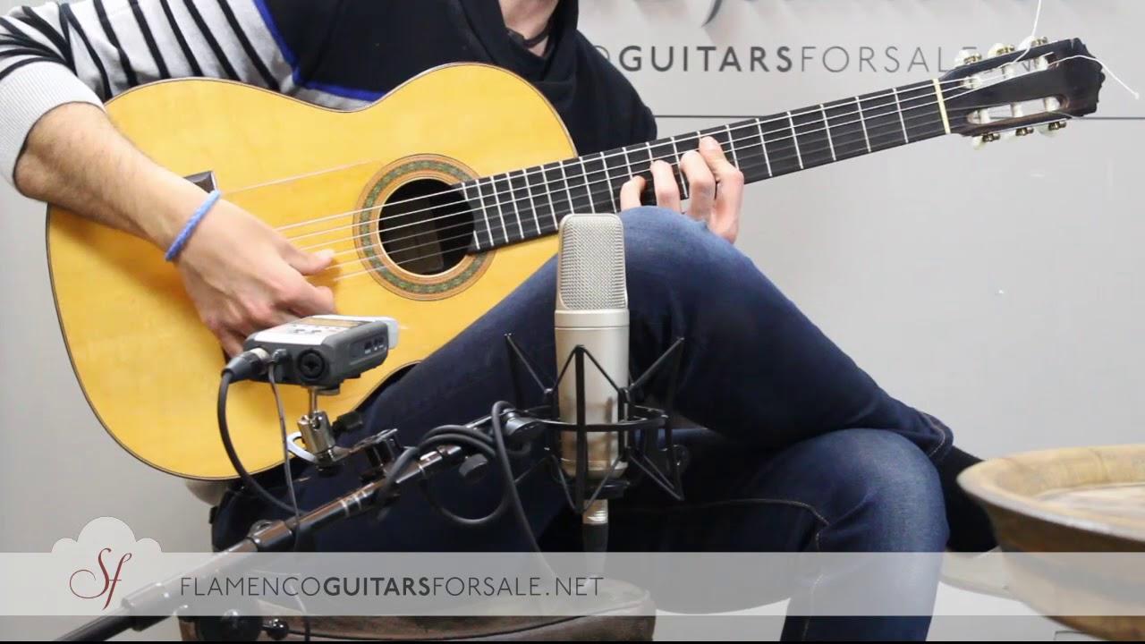 VIDEO TEST: Miguel Rodríguez 1965 flamenco guitar for sale