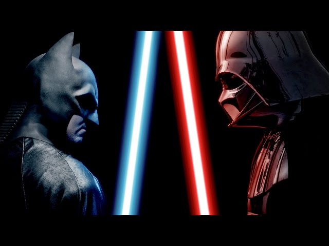 Anteprima Immagine Trailer Batman & Superman vs Darth Fener