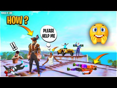 🔥50 Kills Only Factory Roof*Must Watch*King Of Factory Fist Fight-With Dj Alok-Garena Free Fire