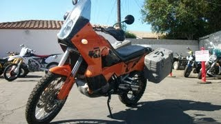 5. 2005 KTM ADVENTURE 950 Used Motorcycle For Sale SOLD