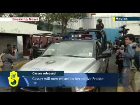 Cassez released: Florence Cassez returns home to France after six years in jail