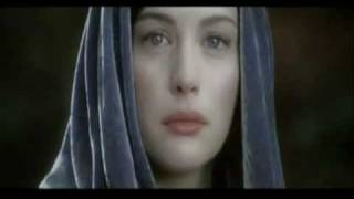 Arwen and Aragorn. Song: Anywhere of Evanescence.