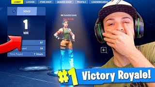 Video Ali-A REACTS to his 1st Victory Royale in Fortnite... (BIG NOOB!) MP3, 3GP, MP4, WEBM, AVI, FLV Agustus 2018