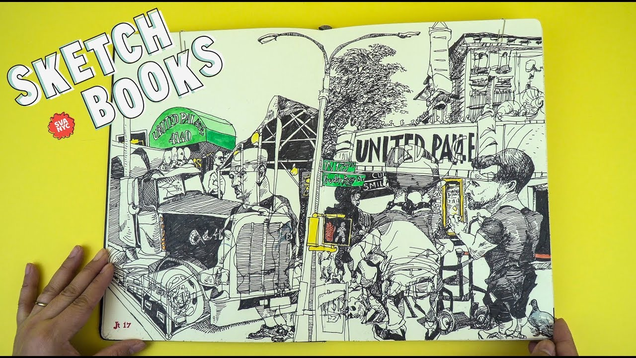 MFA Illustration as Visual Essay alum Jonathan Twingley ('98) shows us his sketchbook.