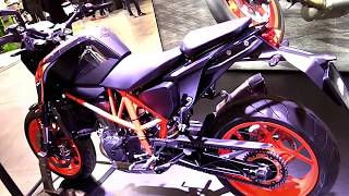 9. 2018 KTM 690 Duke Remake ND Premium Features Edition First Impression Walkaround HD