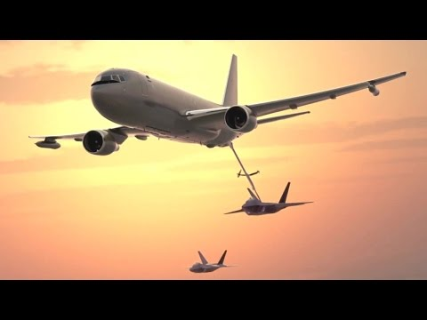 The KC-46 is a widebody, multi-role...