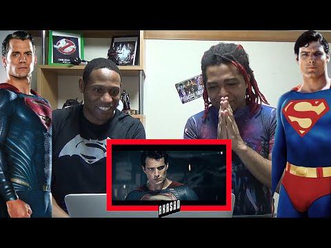 Video Superman Vs Christopher Reeve Meets Henry Cavill