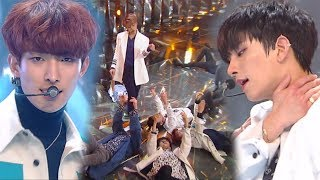 《EMOTIONAL》 SEVENTEEN(세븐틴) - THANKS(고맙다) @인기가요 Inkigayo 20180218