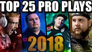 Video TOP 25 CS:GO PRO PLAYS OF 2018! (THE BEST FRAG HIGHLIGHTS OF THE YEAR) MP3, 3GP, MP4, WEBM, AVI, FLV Juni 2019