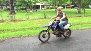 2. Yamaha ttr 125 top speed!