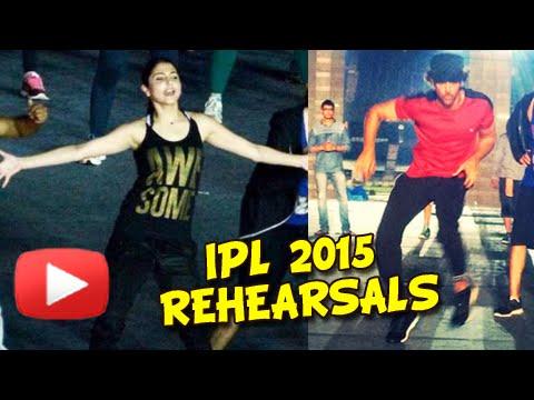 PICS IPL 2015 Opening Ceremony Rehearsals | Hrithi