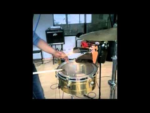 Ejercicios y técnica para el timbal de Yosney Linares