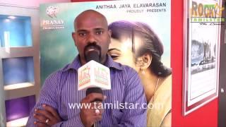 Director Desika at Rettavaalu Movie Press Show