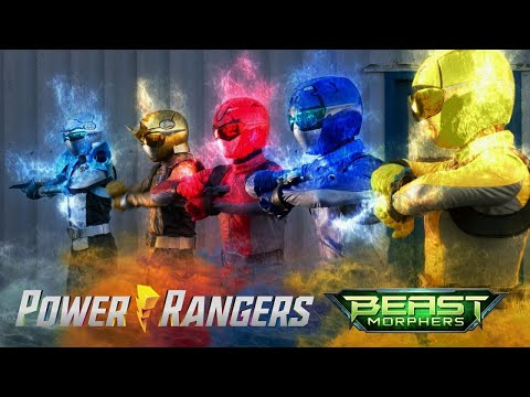 Power Rangers Official   All Battles in Power Rangers Beast Morphers   Season 2 Episodes
