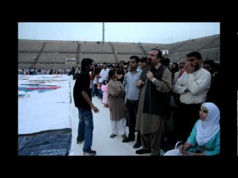 World's Largest Painting by Pakistan Video