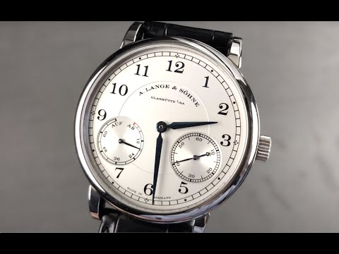 A. Lange & Sohne 1815 Up/Down (Power Reserve) 234.026 A. Lange & Sohne Watch Review