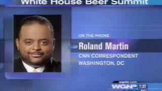 On WGN, CNN's Roland Martin Calls Glenn Beck