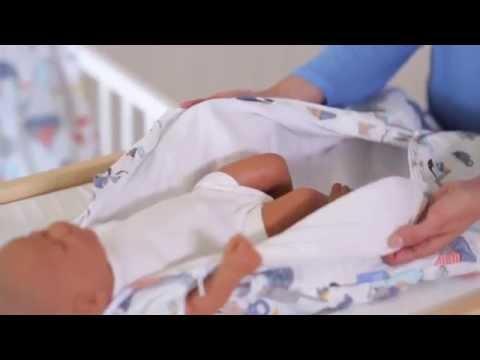 Grobag Baby Sleeping Bag - How It Works | BabySecurity
