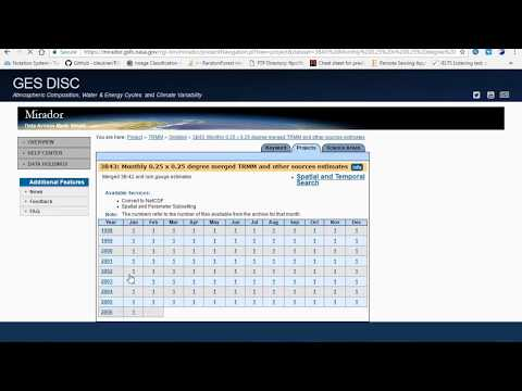 How to download & Process monthly precipitation (3B43) TRMM data in ArcMap