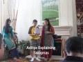 Jain Alphabets and Jain Swapana Ceremony