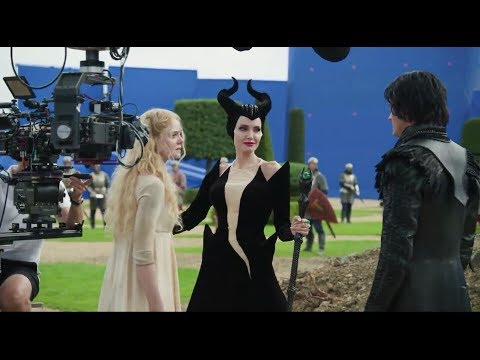 Behind the scenes || MALEFICENT 2