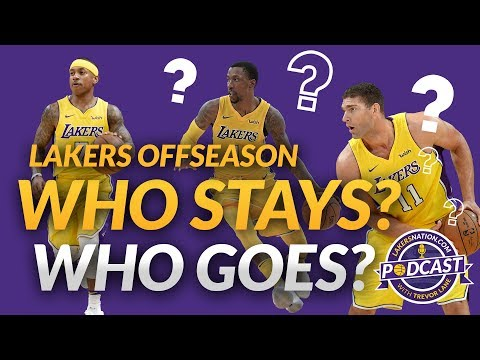 Video: Lakers Podcast: Who Stays? Who Goes? (Lakers Offseason Moves)