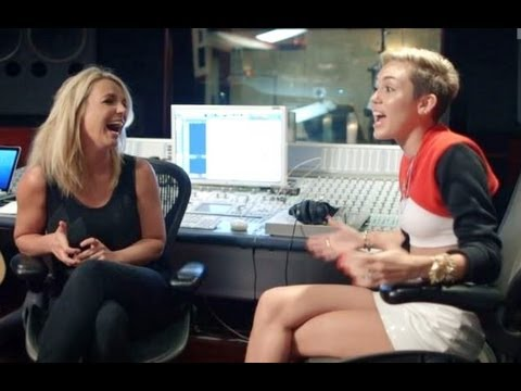 MILEY CYRUS & BRITNEY SPEARS TALK VMAS PERFORMANCE- MTV 'MILEY: THE MOVEMENT' TRAILER!